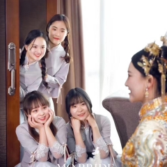 伴娘服姐妹装姐妹团伴娘服长款礼服W2011390324-13 图片色 单款(单件)