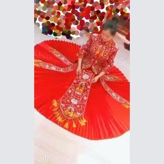 中式出阁服新娘结婚当天嫁衣秀禾服W5010240207-24 图片色 M