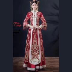 中式出阁服新娘结婚当天嫁衣秀禾服W501046042-1 图片色 S
