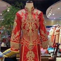 新娘结婚红色出阁烫钻秀禾服W5010460528-7 图片色 3XL