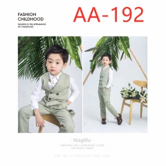 拍照童装儿童服装时尚花童服装W906GZTHA-192 如图 均码
