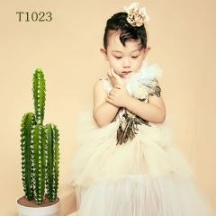 儿童艺术写真服童装时尚风格服装W906GZTHT1023 如图 均码