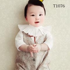 儿童艺术写真服童装时尚风格宝宝服装W906GZTHT1076 如图 均码