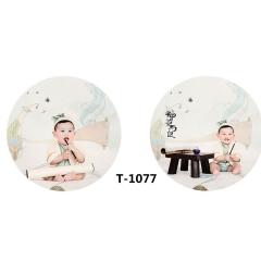儿童艺术写真服童装时尚风格宝宝服装W906GZTHT1077 如图 均码