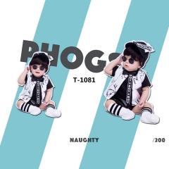 儿童艺术写真服童装时尚风格宝宝服装W906GZTHT1081 如图 均码