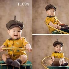 儿童艺术写真服童装时尚风格服装W906GZTHT1094 如图 均码