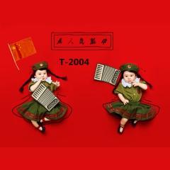 儿童艺术写真服童装时尚风格宝宝服装W906GZTHT2004 如图 均码
