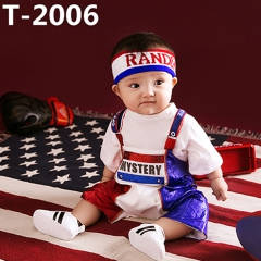 儿童艺术写真服童装时尚风格服装W906GZTHT2006 如图 均码