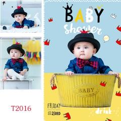儿童艺术写真服童装时尚风格服装W906GZTHT2016 如图 均码