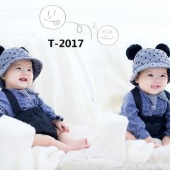 儿童艺术写真服童装时尚风格服装W906GZTHT2017 如图 均码
