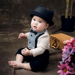 儿童艺术写真服童装时尚风格服装W906GZTHT2019 如图 均码