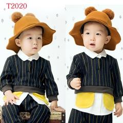 儿童艺术写真服童装时尚风格服装W906GZTHT2020 如图 均码