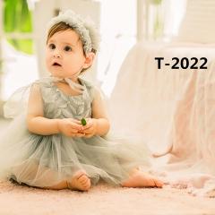 儿童艺术写真服童装时尚风格服装W906GZTHT2022 如图 均码