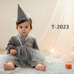 儿童艺术写真服童装时尚风格服装W906GZTHT2023 如图 均码