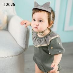 儿童艺术写真服童装时尚风格服装W906GZTHT2026 如图 均码