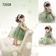 儿童艺术写真服童装时尚风格服装W906GZTHT2028 如图 均码