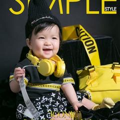 儿童艺术写真服童装时尚风格服装W906GZTHT2032 如图 均码