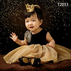 儿童艺术写真服童装时尚风格服装W906GZTHT2033 如图 均码