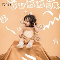 儿童艺术写真服童装时尚风格服装W906GZTHT2043 如图 均码