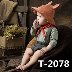 儿童艺术写真服童装时尚风格服装W906GZTHT2078 如图 均码