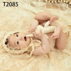 儿童艺术写真服童装时尚风格服装W906GZTHT2085 如图 均码
