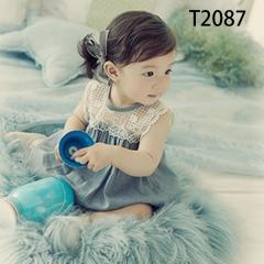 儿童艺术写真服童装时尚风格服装W906GZTHT2087 如图 均码