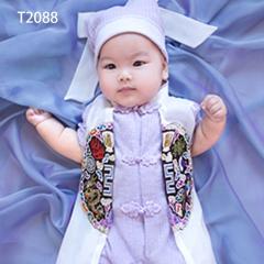 儿童艺术写真服童装时尚风格服装W906GZTHT2088 如图 均码