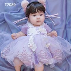 儿童艺术写真服童装时尚风格服装W906GZTHT2089 如图 均码