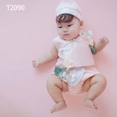 儿童艺术写真服童装时尚风格服装W906GZTHT2090 如图 均码
