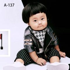 儿童艺术写真服童装时尚风格服装W906GZTHA137 如图 均码