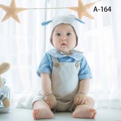 儿童艺术写真服童装时尚风格服装W906GZTHA164 如图 均码