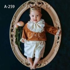 儿童艺术写真服童装时尚风格服装W906GZTHA259 如图 均码
