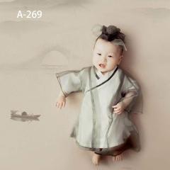 儿童艺术写真服童装时尚风格服装W906GZTHA269 如图 均码