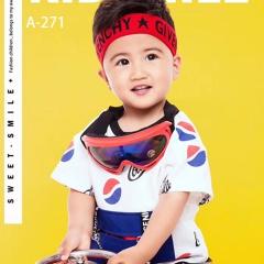 儿童艺术写真服童装时尚风格服装W906GZTHA271 如图 均码