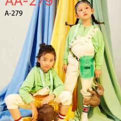 儿童艺术写真服童装时尚风格服装W906GZTHA279 如图 均码