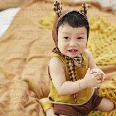 儿童艺术写真服童装时尚风格服装W906GZTH1016-1 如图 均码