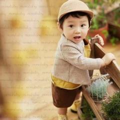 儿童艺术写真服童装时尚风格服装W906GZTH1017-1 如图 均码