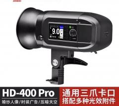 金贝HD400PRO外拍闪光灯TTL高速摄影灯户外便携拍摄补光动态抓拍 图片 金贝HD400PRO外