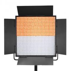 海力欧LED HL-1296 影视微电影摄像灯 LED平板灯 图片 HL-1296D双色温
